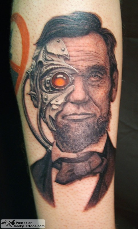Borg Abraham Lincoln Tattoo [pic]