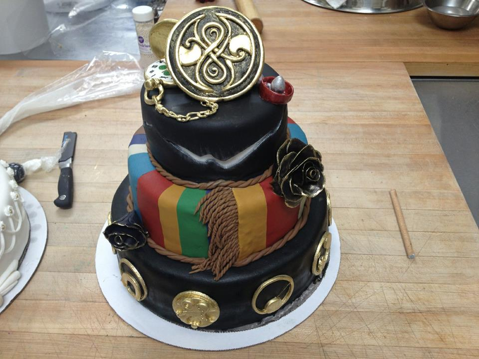 This Doctor Who Wedding Cake is Amazing  pic    Global Geek News Doctor Who Wedding Cake