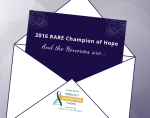 2016 RARE Champion Of Hope Honorees