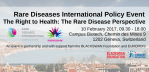 Rare Diseases International Policy Event, Geneva