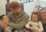 Prince Harry Visits Siblings with CNL2 Batten Disease in London Hospital