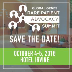 2018 RARE Patient Advocacy Summit