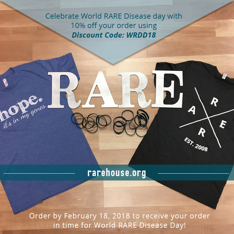 Wear RARE! Enjoy a 10% off Discount!