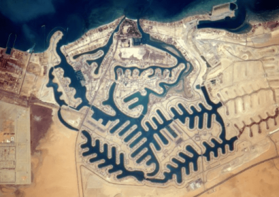 Kuwait from space by Pesquet