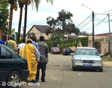 Abidjan, Côte d'Ivoire, Traditional Akan Chief