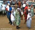 N'zima Priestesses at Abissa 2012, Grand Bassam, Ivory Coast