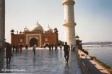 Taj Mahal Complex, Yamuna River, India