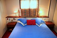 Bedroom aboard Panache