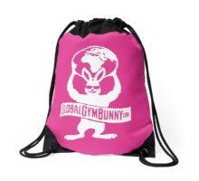Global Gym Bunny Drawstring Bag Pink