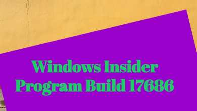 Windows Insider Program Build 17686