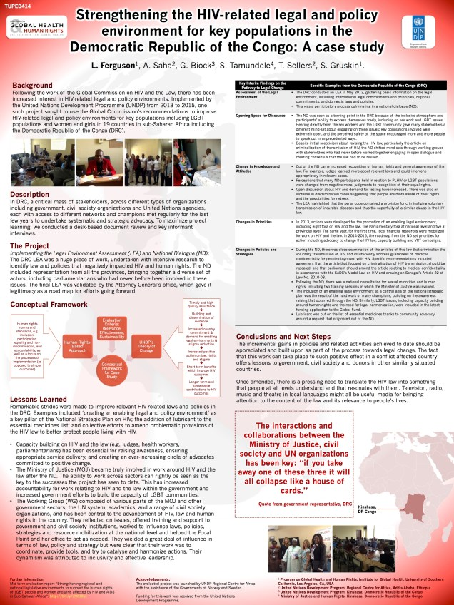 AIDS 2016 Poster