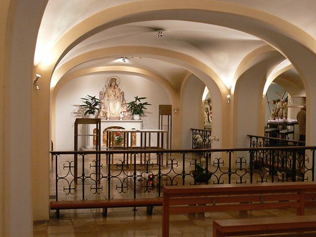 Lower sanctuary