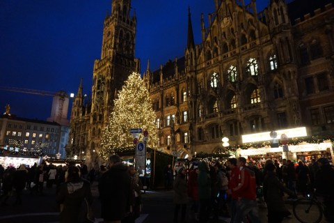 Marienplatz Christmas