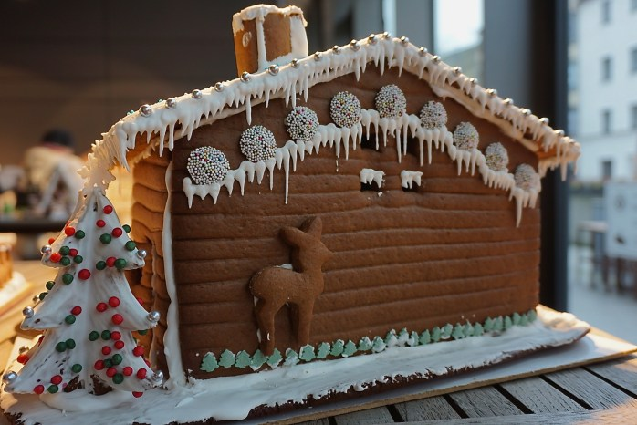 Cozy Gingerbread House