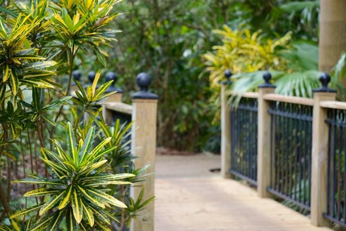Leu Gardens Bridge