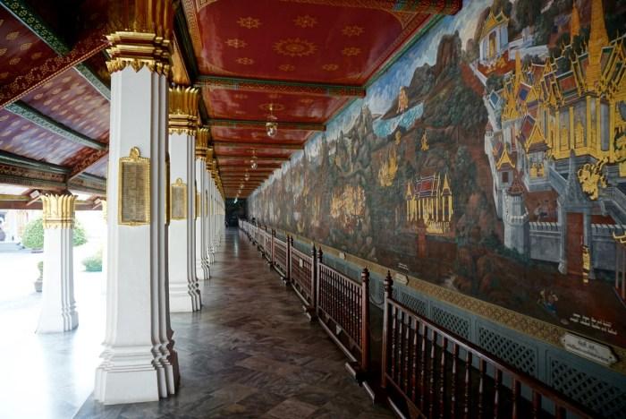 Wat Phra Kaew Hall of murals