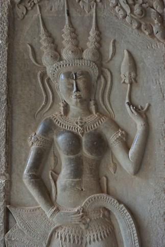 Apsara at Angkor Wat