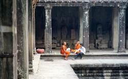 Angkor Wat Buddhist Monks
