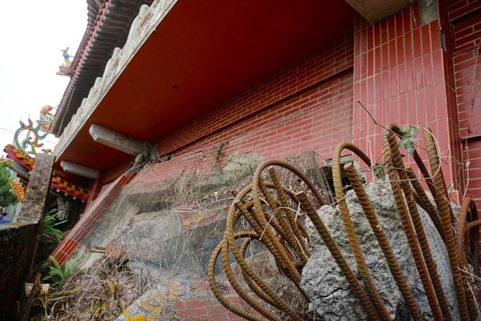 Collapsed Wuchang Temple 集集: 武昌宮