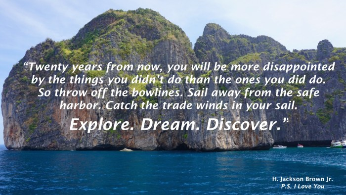 Explore. Dream. Discover.
