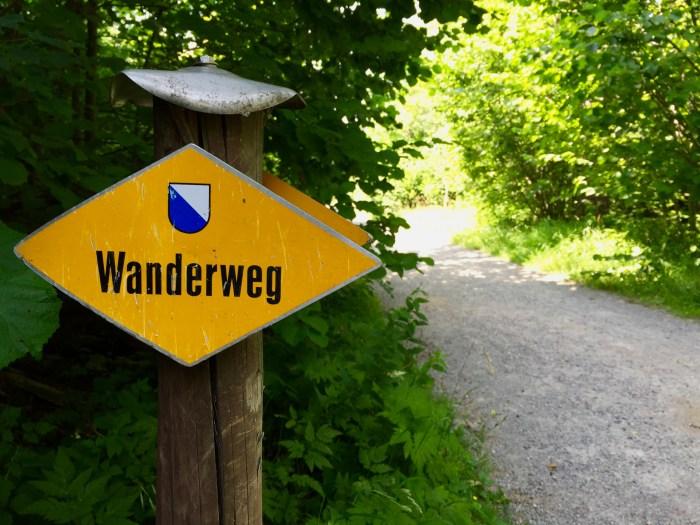 Wanderweg Switzerland