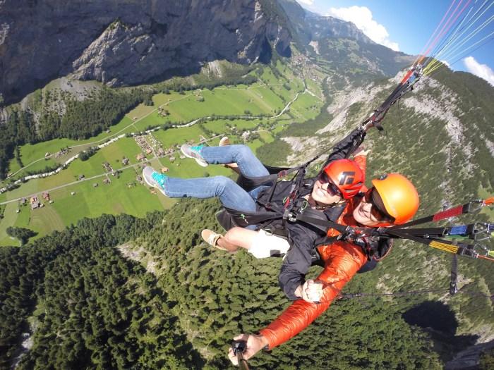 Paragliding Lauterbrunnen