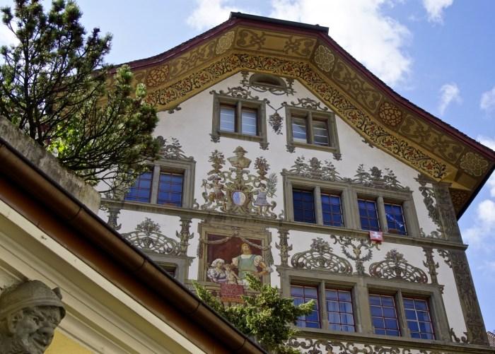 Old Town Luzern Switzerland