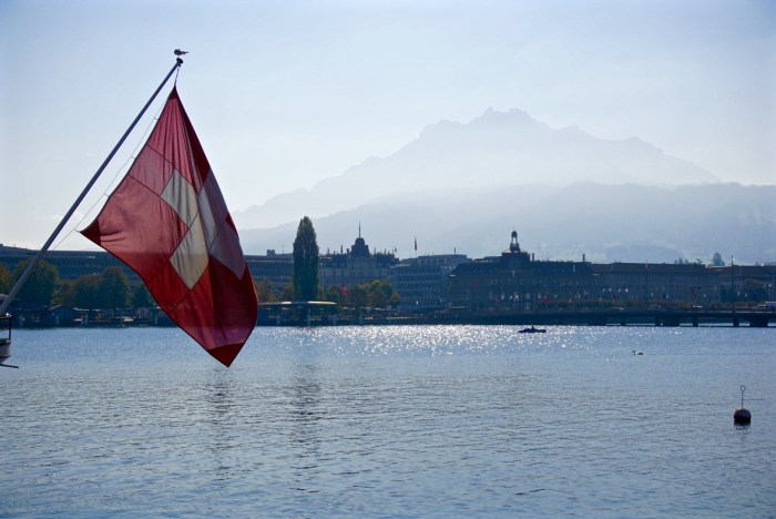 Lake Lucerne and Mount Pilatus