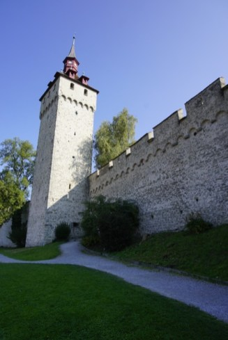 Medieval Wall of Lucerne