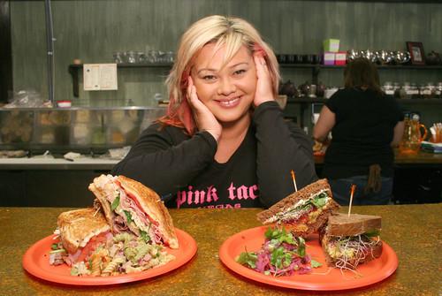 Pom Pom Sandwiches