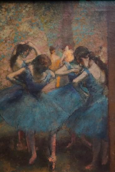 Degas Blue Dancers