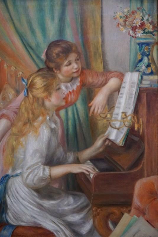 Renoir Girls at the Piano