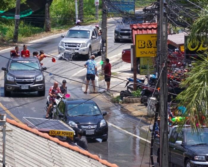 Songkran Phuket Thailand