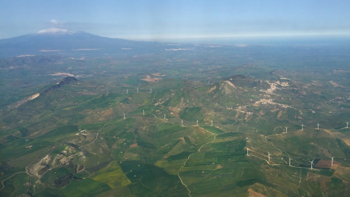 Sicily Aerial View