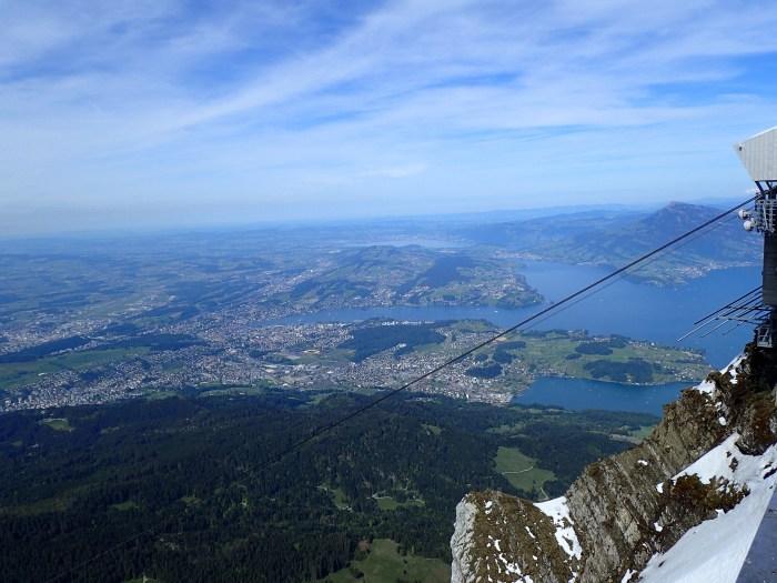 Overlooking Lucern