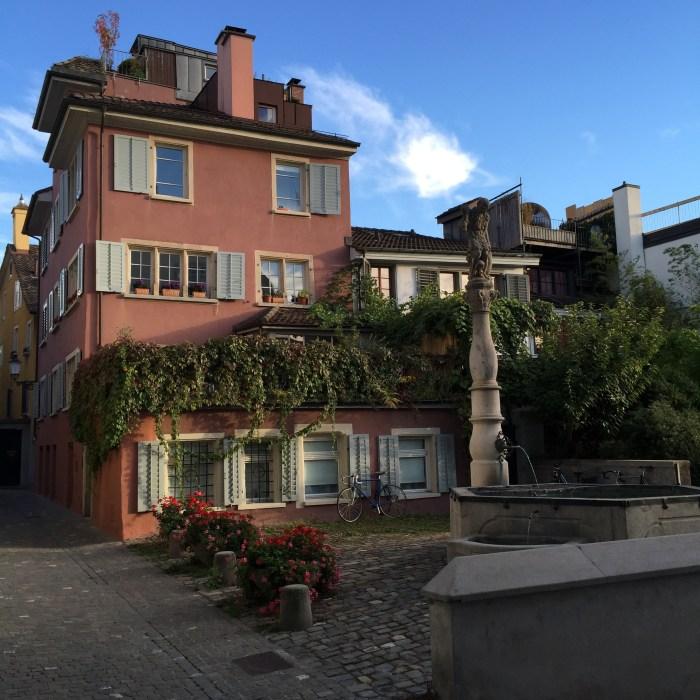 Fountain Courtyard Zurich