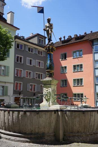 Zurich Fountain