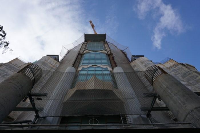 Building La Sagrada Familia
