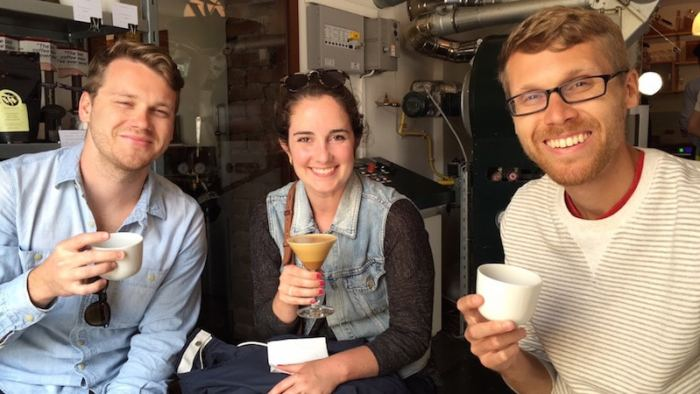 Justin and I traveled through Stockholm, Oslo, and Copenhagen with the Orlando Domecks, Luke and Mary Kate. We sought out the best brews in every city, thanks to their enthusiasm for good coffee!