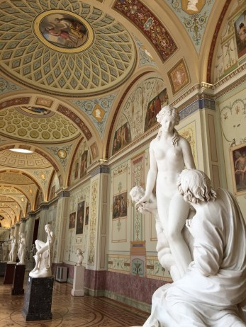 The Hermitage sculpture
