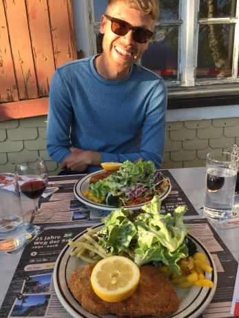 Dinner at Berggasthaus Eggberge