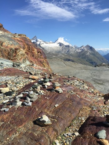 Matterhorn Glacier Trail Rock Formations