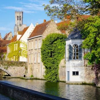 Bruges Belgium Canal