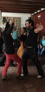 Dance Lessons at Jardines de Zoraya