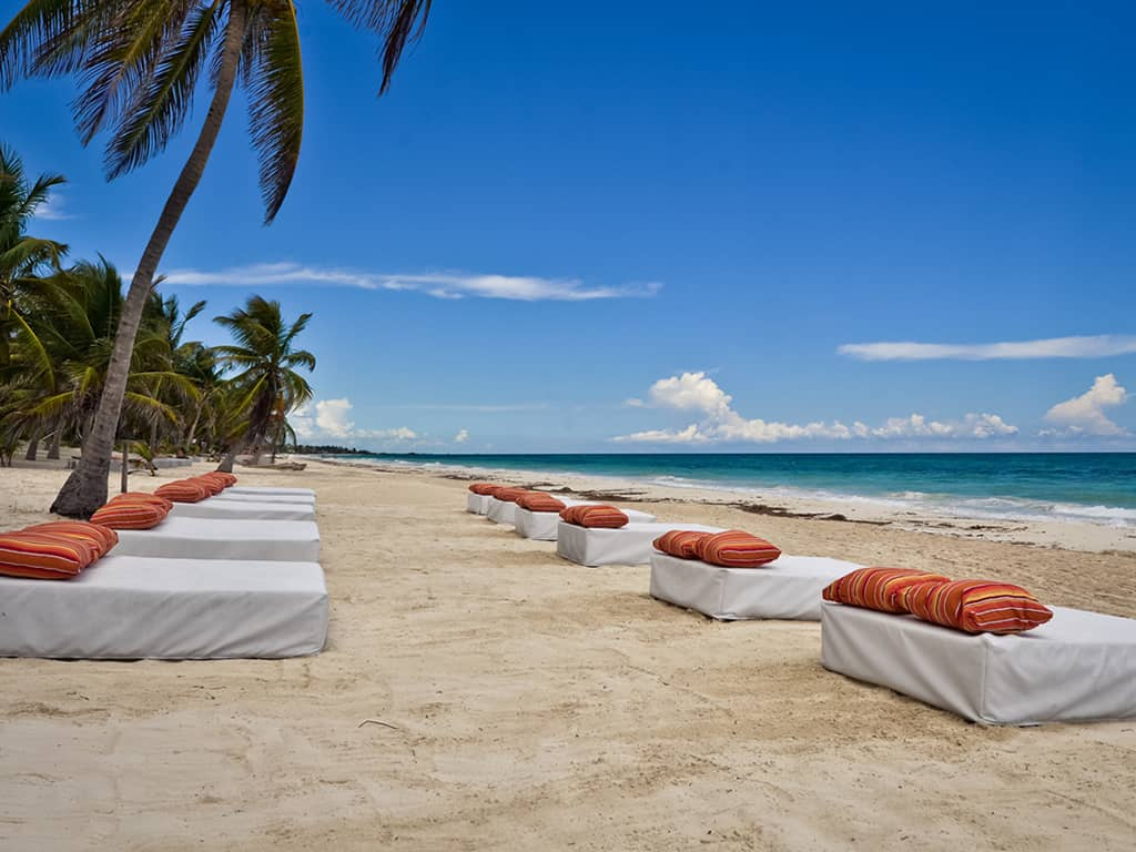 Cabanas Copal Beach - Picture of Cabanas Copal, Tulum