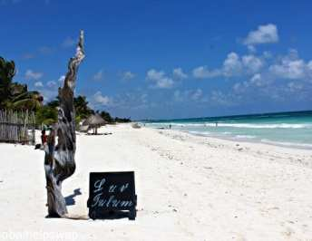 A lazy day lounging at the Luv Tulum Hotel