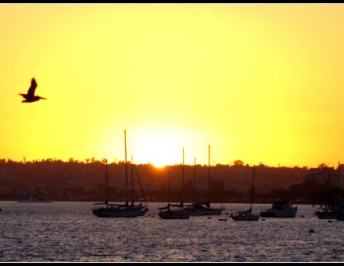 The Friday Photo Project | San Diego Bay Sunset