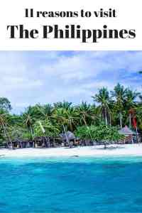 11 reasons you must travel to the Philippines