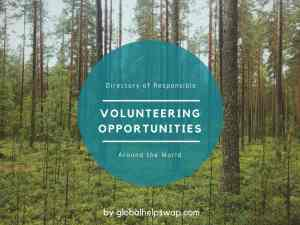 Directory of volunteering abroad
