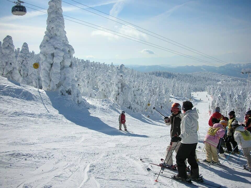 Volunteer at a Japanese Ski Resort